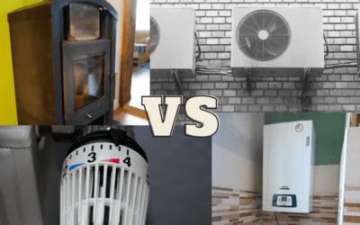 Fűtési rendszerek előnyeinek és hátrányainak összehasonlítása